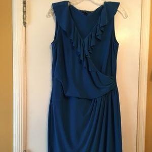 Royal blue sleeveless Chaps dress